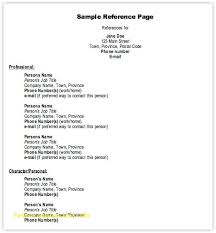 Resume Reference Page Template Best Resume Reference List Template Free Template 100Free 11