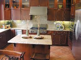 kitchen backsplash ideas when budgeting matters personable kitchens with cherry cabinets design