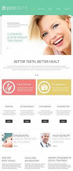 Website Templates Medical Prodent Dentistry Dental Teeth Policlinic