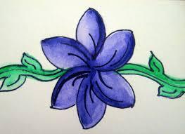 i diy basic watercolor flower