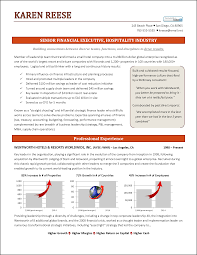 Executive Resume Hospitality Page 1 Png How To Write An Summary For