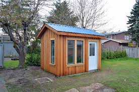 backyard office shed. Shed Needed As Backyard Office With Large Glass Windows For Lots Of Natural Light