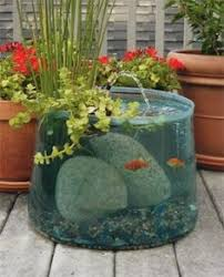 Small Picture 21 Fascinating Low Budget DIY Mini Ponds In a Pot Aquariums