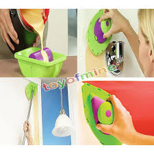 easy paint pads point painting roller tray decorative paint multifunction tool 3 sponge set kit in candle making kits from home garden on aliexpress com