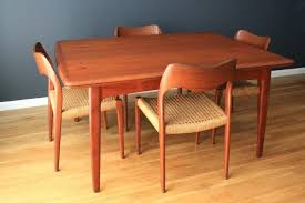 um size of mid century modern teak dining room table danish set and chairs decoration of