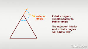 sum of exterior angles