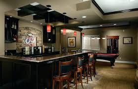 basement bar lighting ideas modern basement. Basement Bar Lighting Ideas Modern With Cool Recessed Viewing Gallery Basement Bar Lighting Ideas Modern S