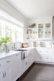 White Cabinet Kitchen Design 25 Best Ideas About White Contemporary Kitchen On Pinterest