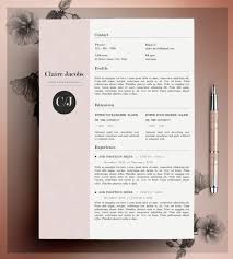 It Resume Design Templates Template 5 Pages Dolce Vita Impression ...
