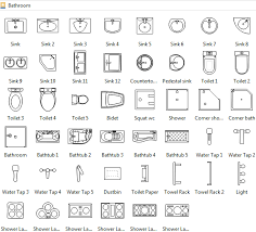 floor plan symbols bathroom. Plain Bathroom Bathroom Symbols Throughout Floor Plan Pinterest