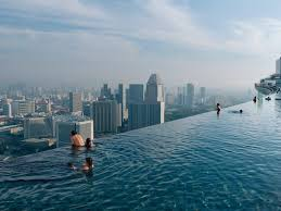 infinity pool singapore hotel. The Infinity Pool Of Marina Bay Sands Overlooking The Entire Singapore  Skyline. Sitting 57 Floors Up On Top Hotel, It Stretches For 150 Meters, Infinity Pool Singapore Hotel G