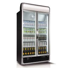 975l vertical glass door fridge black c10pro h bk au hu factory seconds