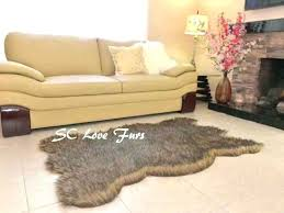 white faux fur bear rug head skin best rugs grizzly polar black brown for fake fake white bear skin rug