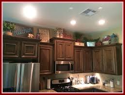 shocking above kitchen cabinets decor pics of rustic accents popular and concept rustic kitchen accents