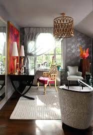 home office cool office. Home Office Light Fixtures Birdcage Fixture Eclectic With Area Rug Bedroom Built In Cool
