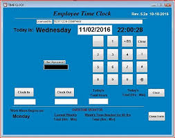 Employee Time Small Business Employee Time Clock Software Single Pc Up To 100 Employees Windows Xp Vista 7 8 Or 10 No Monthly Fees Touch Screen Ready