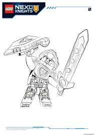 Small Picture Lego Nexo Knights Clay 1 Coloring pages Printable