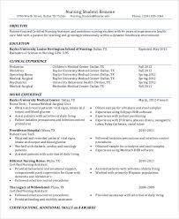 Modern Nurse Resume Format Word 15 Nurse Resume Templates Pdf Doc Free Premium Templates