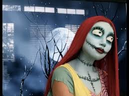 sally nightmare before make up look jack and sally video fanpop