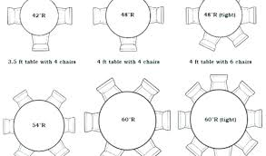 8 foot table seats 6 foot round table seats how many round tables rh pirh org