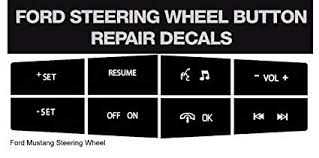 Amazon.com: Ford <b>Mustang Steering Wheel Button</b> Repair Kit ...