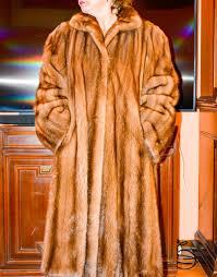 mink fur coat made in italy