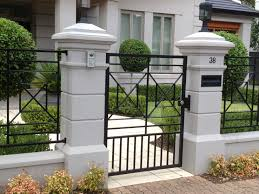 Modern Gate Pillar Design Pin On For The Home
