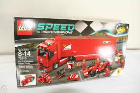 Ein grandioses speed champions set. Lego Speed Champions F14 T Scuderia Ferrari Truck Set 75913 New 1733204305