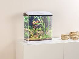 ... Sweetypet Nano Aquarium Komplett Set Mit LED Beleuchtung, Pumpe Und  Filter ...