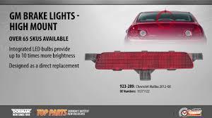 Brake Light - High Mount - YouTube
