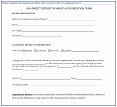 Recurring Payment Authorization Form Payment Authorization Form Template Unique Recurring Payment