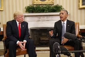 obama oval office. President Barack Obama Meets With President-elect Donald Trump In The Oval Office Of M