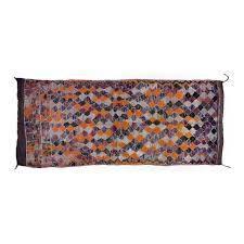 purple orange moroccan rug for