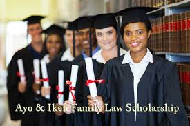 ayo and iken family law scholarship