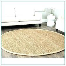 round jute rug 8 foot ikea tarnby review rugs chunky runner border sand pottery barn o jute rug