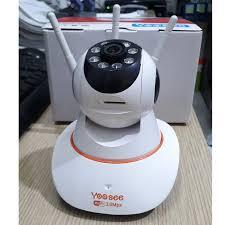 Mẫu Mới Chính Hãng] Camera Giám Sát IP Yoosee 3 Râu 3.0 FullHD 4 Led Sáng  Ban Đêm và 4 Led Hồng Ngoại - Hệ thống camera giám sát