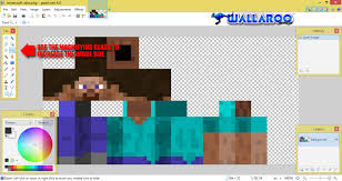 How To Map Out Your Minecraft Skin