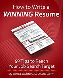 Amazon Resume Tips How To Write A Winning Resume 50 Tips To Reach Your Job Search Target