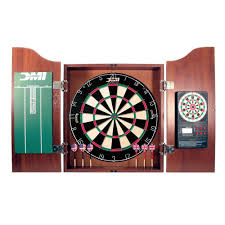 Dart Board Cabinet With Chalkboard Amazoncom Dmi Bristle Dartboard In Cherry Cabinet Dart