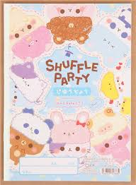 kawaii cute hats party coloring book drawing book exercise book by q lia
