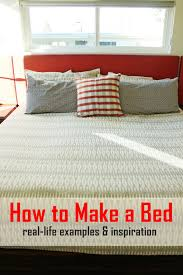 how to make a bed tutorial
