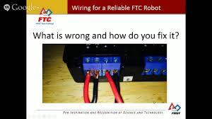 ftc robot wiring guide roboaztechs