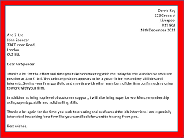 How To Get A Job An Interview Thank You Letters Template One Follow