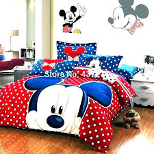 mickey mouse king size bedding full set bed sheets