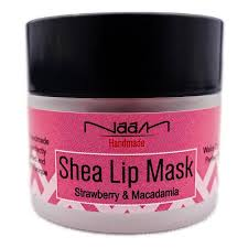naam shea lip mask strawberry macadamia overnight lip treatment lip healing