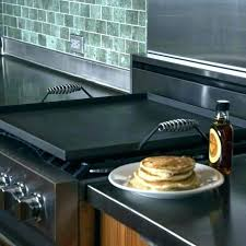 cast iron griddle glass top stove tric with griddles for flat gas best skillet on