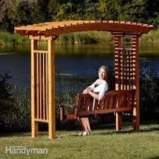 Small Picture Plans for a Deluxe Garden Swing Honey Im In The Garage