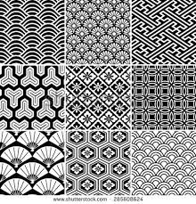 Japanese Pattern Amazing Seamless Vector Pattern Set Traditional Japanese Ornamental Motives