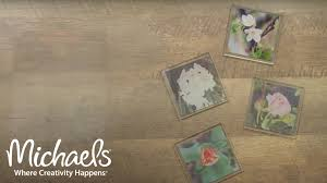 photo transfer coasters ideas for papercrafting michaels