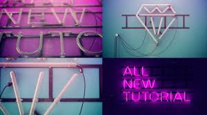 Vray Neon Light Tutorial Neon Sign Cinema 4d Breakdown Tutorial